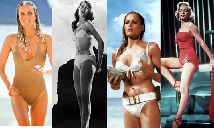 Icónicos bikinis y bañadores en la historia del cine