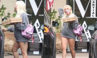 Sorprende foto de Lady Gaga embarazada