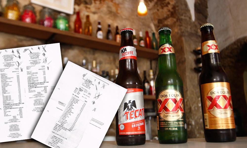 Acepta IPM cerveza, brandi y vodka como viáticos