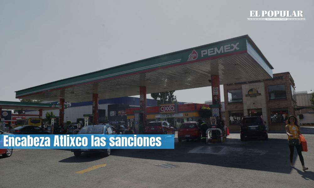 Prefieren gasolineras multas a revisiones de la Profeco