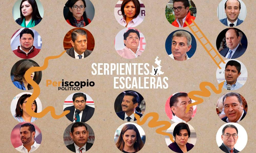 El juego de Serpientes y escaleras de la política poblana rumbo al 2020
