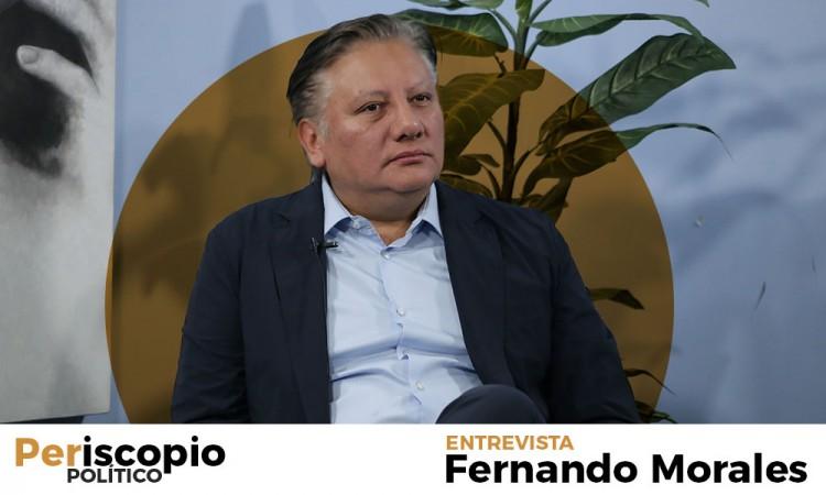 Fernando Morales: Quiero que Movimiento Ciudadano vaya en solitario