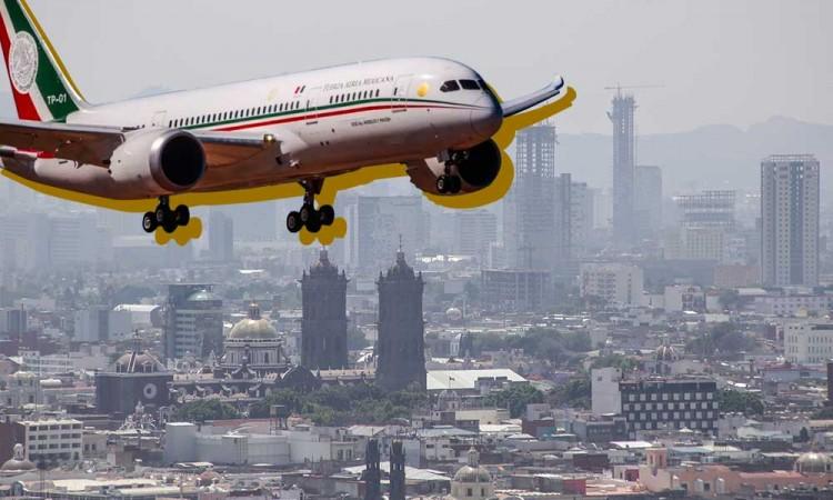 Rifa del avión, cara a cara con el Coronavirus