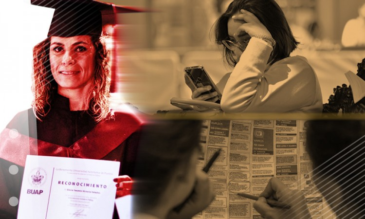 Tener licenciatura no significa trabajo asegurado, ¿Qué enfrentan los jóvenes poblanos cuando salen de la carrera?