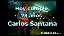 Carlos Santana cumple 73 años de crear acordes mágicos