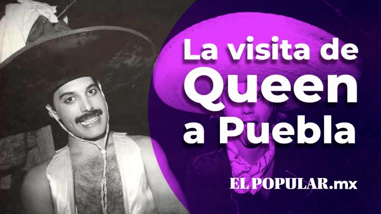 El día de Queen visitó Puebla