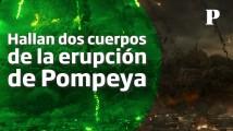 ¡Asombroso! Descubren arqueólogos dos cuerpos intactos en Pompeya