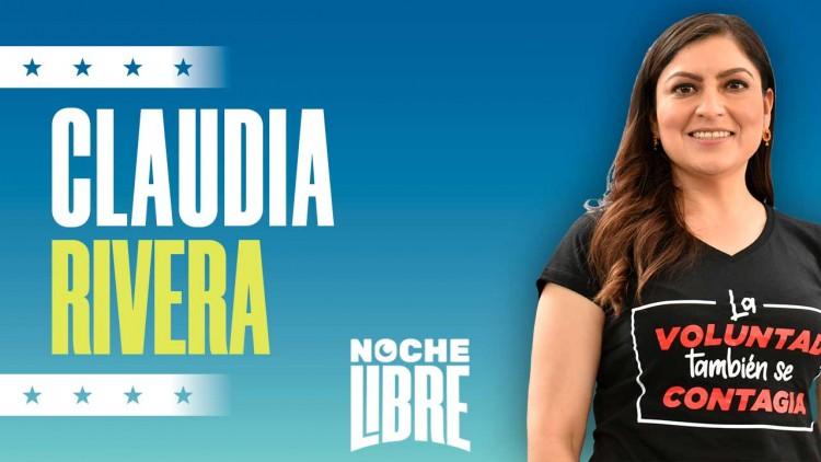 Noche Libre: Claudia Rivera invitada / La reelección por Puebla / Qué dice de sus opositores