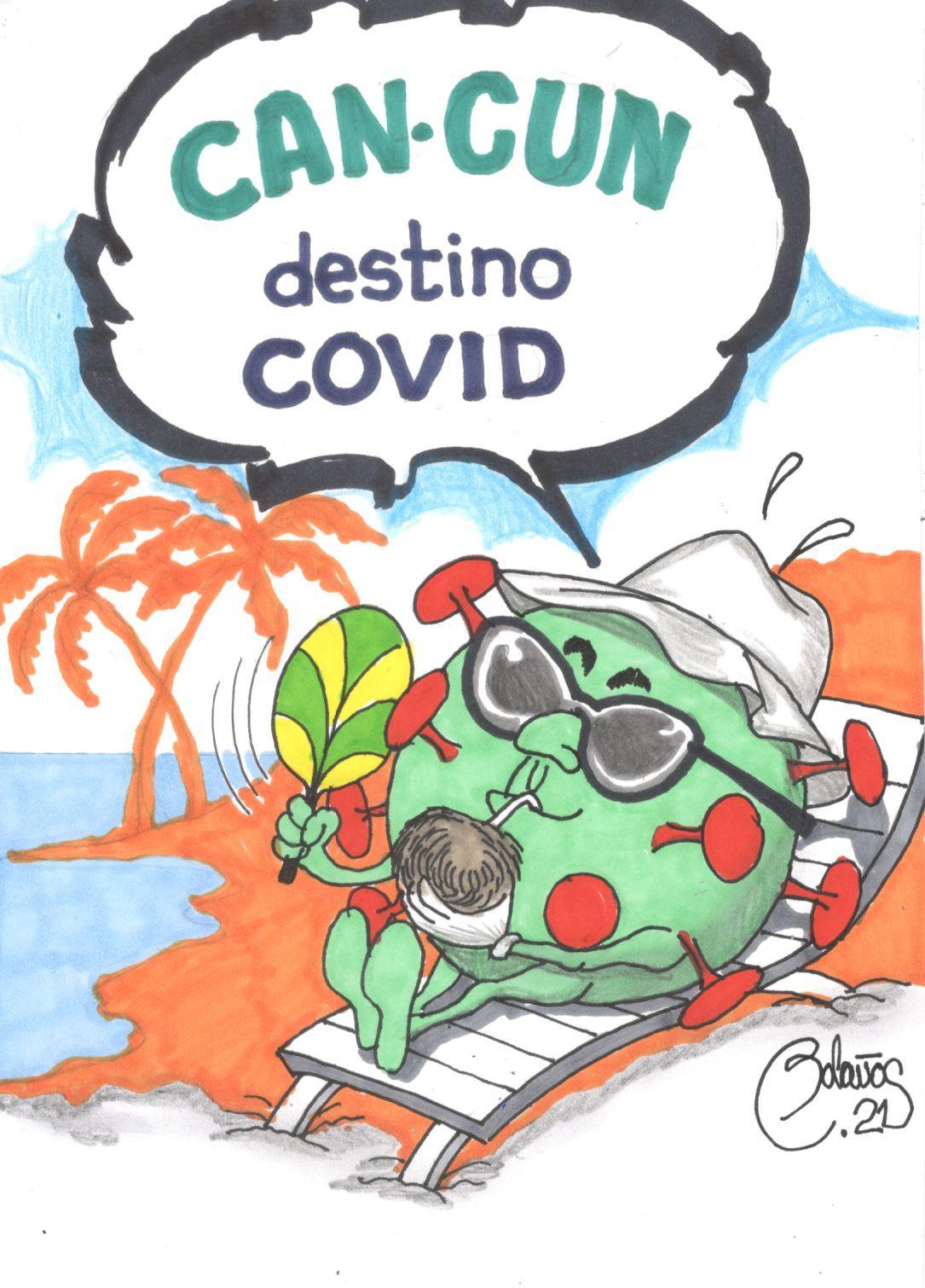 Cancún destino Covid