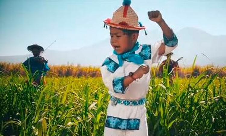Convierten al Niño Yuawi de MC en piñata