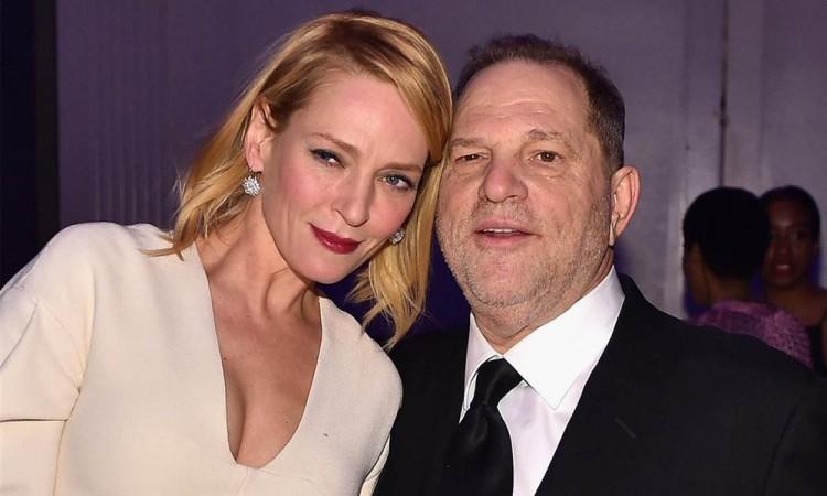 UmaThurman, una víctima más de Harvey Weinstein