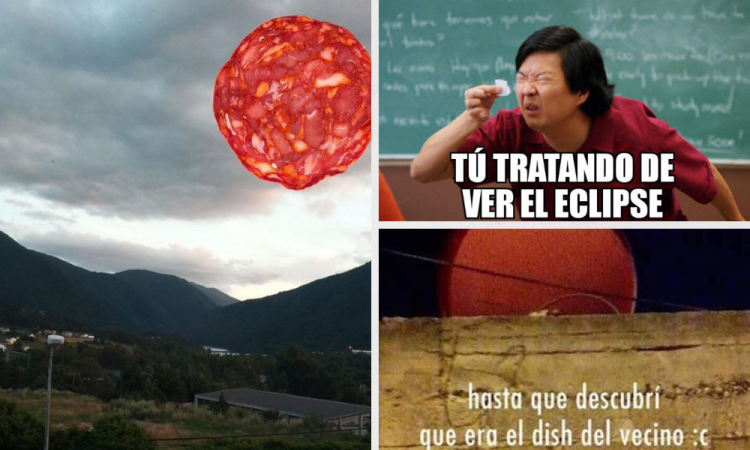 Los mejores memes del Eclipse Lunar