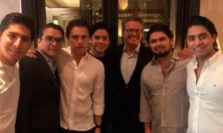 El Sol reaparece en fiesta del hijo de EPN; Gerardo Islas compartió la foto