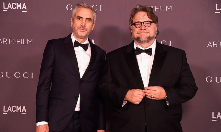 Critican Cuarón y Del Toro a los Óscar