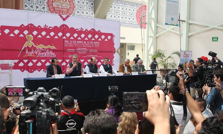 La inversión para la Feria de Puebla es de 80mdp