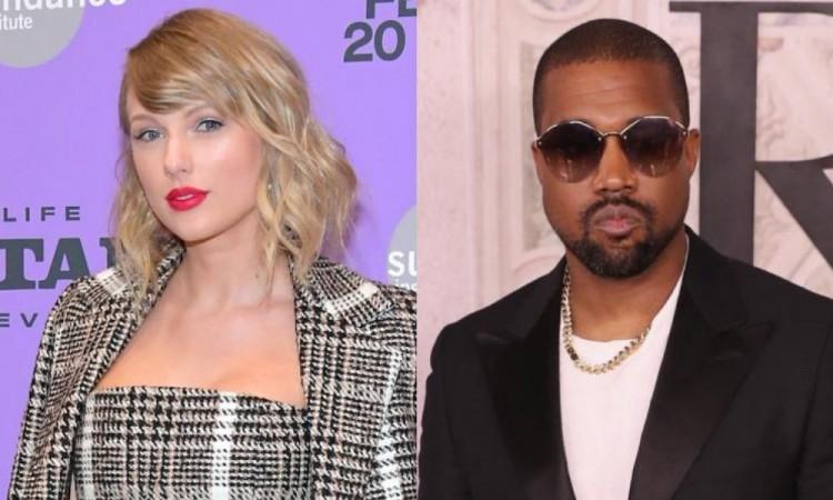 Filtran conversación completa entre Kanye West y Taylor Swift