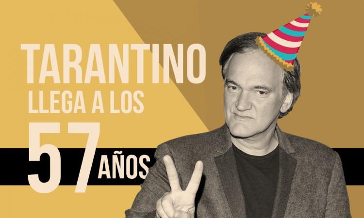 Tarantino llega a los 57 años