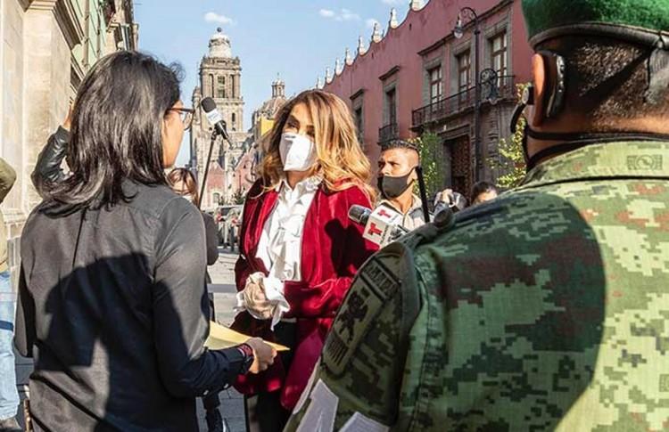Ninel Conde va a Palacio Nacional a pedir ayuda a López Obrador