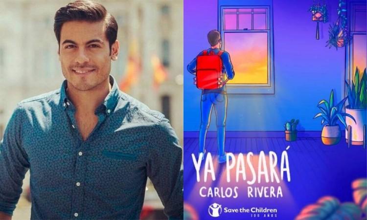 Anuncia Carlos Rivera canción que ayudará a los afectados por el Covid-19
