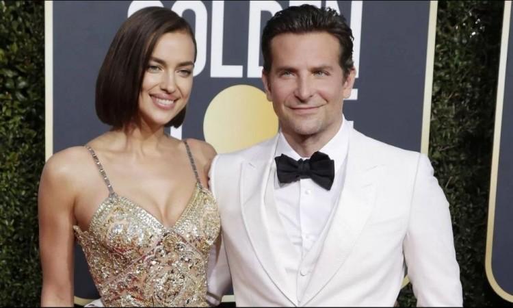 Irina Shayk sale feliz de casa de Bradley Cooper hay rumores de reconciliación