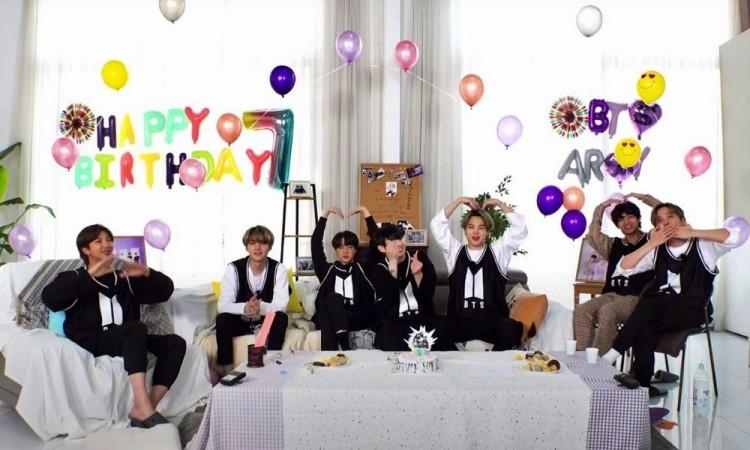 BTS celebró junto a ARMY 7 años de escena musical en el K-pop