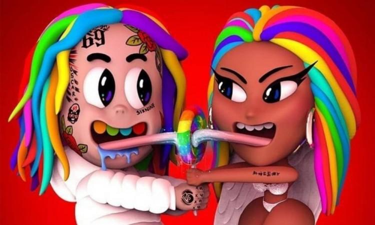 El rapero de origen poblano Tekashi 6ix9ine rompe récord con trollz, su colaboración con Nicky Minaj