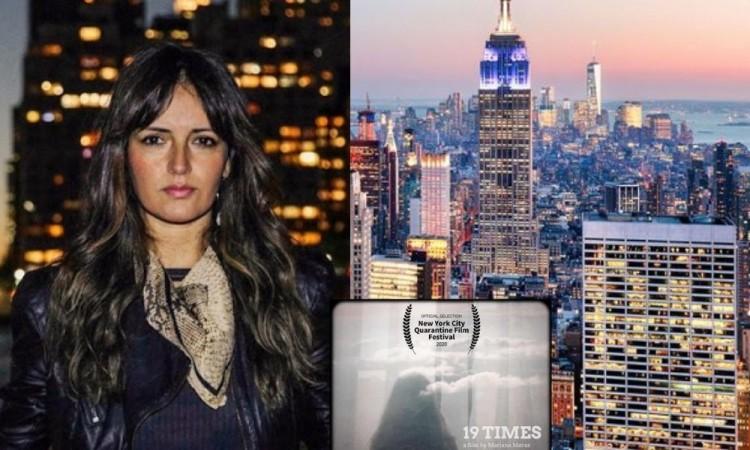 Gana Laura Mariana Meraz premio en Festival de NY con corto sobre Covid- 19