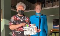 Almodóvar vuelve a las andadas: Inicia rodaje de La voz humana con Tilda Swinton