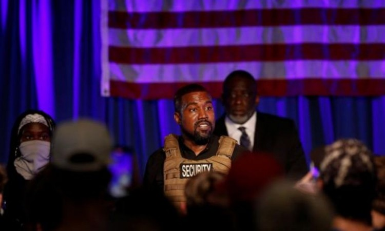 Kanye West comienza su campaña a la presidencia a Estados Unidos