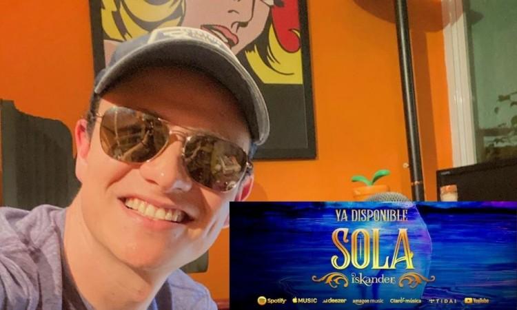 Presenta ISKANDER su nuevo sencillo 'Sola'