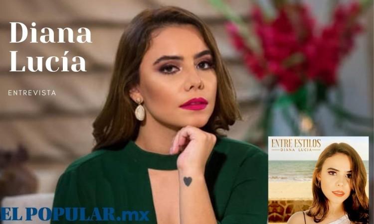 Diana Lucia presenta 'Entre Estilos' un disco donde comparte escenario con el maestro Armando manzanero