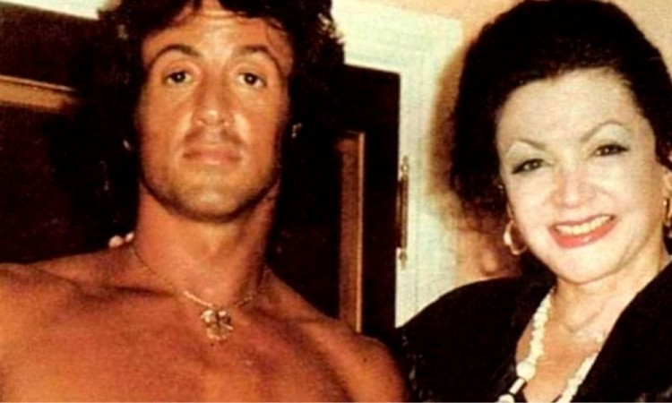Murió la madre de Sylvester Stallone Jackie Stallone