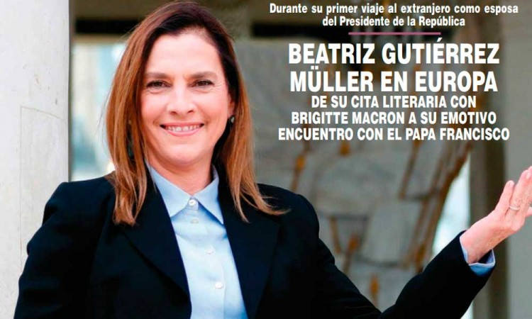 Así apareció Beatriz Gutiérrez Müller la revista ¡Hola! México