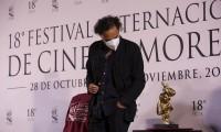 """Se reúne el equipo de """"Amores perros"""" tras 20 años en Festival de Cine de Morelia"""