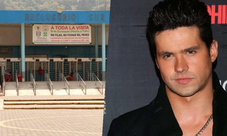 Encarcelan a Eleazar Gómez en Reclusorio Sur por estrangular a su novia