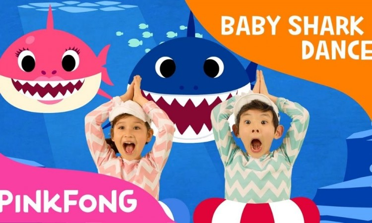 """""""Baby Shark, la canción infantil que alcanzó el récord histórico en YouTube"""
