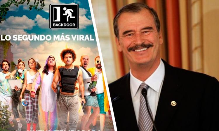 Vicente Fox será parte de la serie 'Backdoor'