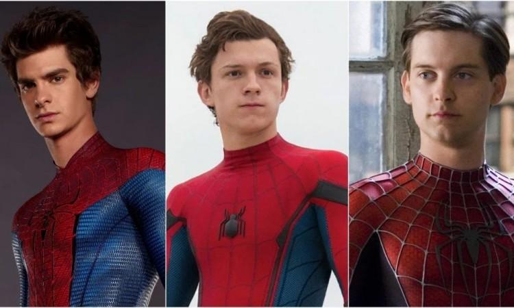 Sony borra un vídeo con los tres actores de Spider-Man