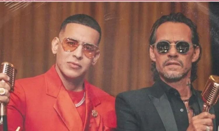 Anuncia Daddy Yankee colaboración con Marc Anthony