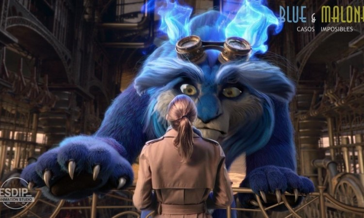 'Blue & Malone: Casos Imposibles', el corto de animación candidato al Goya