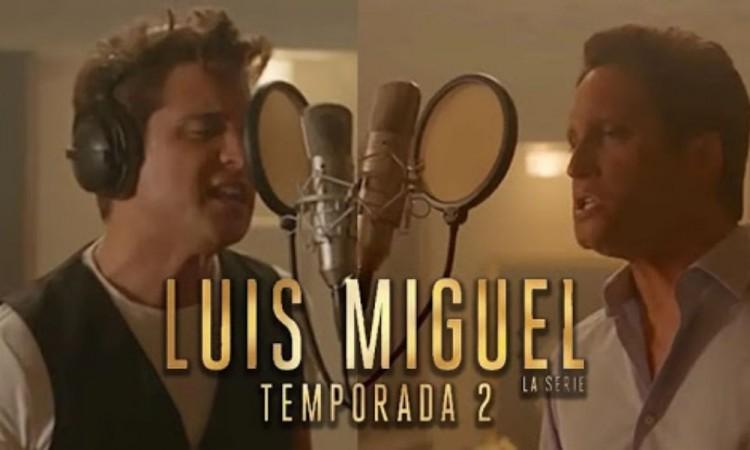 Hoy se estrena la segunda temporada de Luis Miguel, la serie