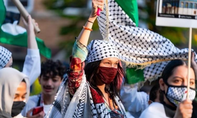 Bella Hadid publica un emotivo mensaje en apoyo a Palestina