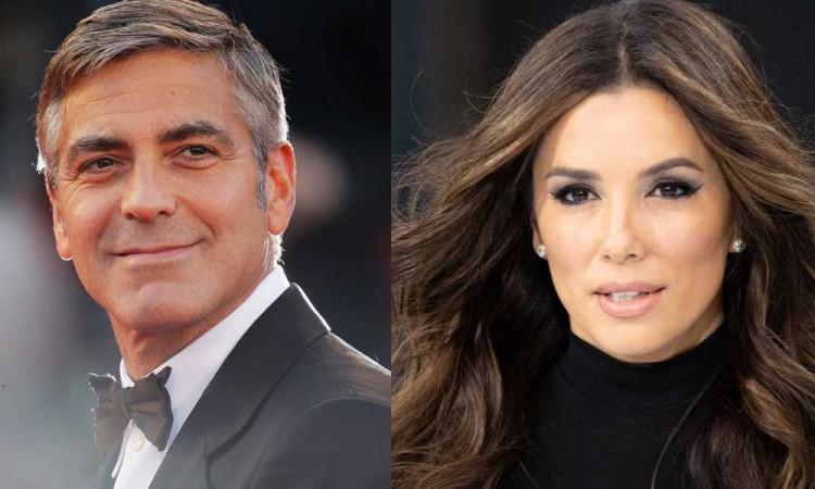 George Clooney y Eva Longoria abrirán una escuela en Los Ángeles para interesados en el cine