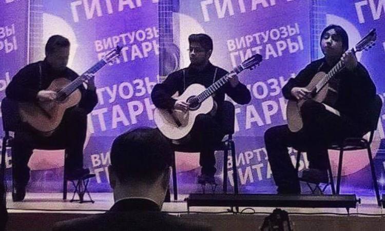 Premian a músicos poblanos en Rusia
