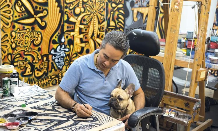 Carlos Luna, artista del mundo