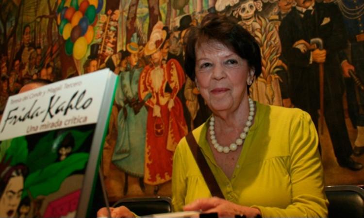 Falleció Teresa del Conde, creadora de la generación de la ruptura