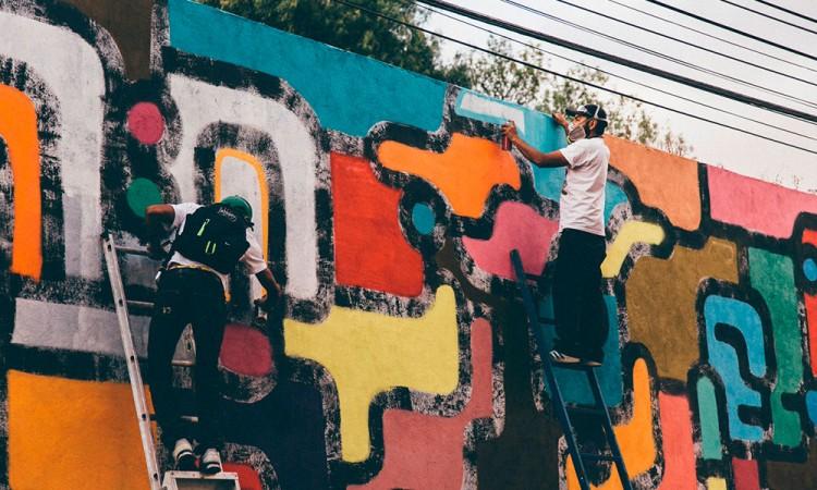 Proyecto La Rueda da color al barrio El Alto