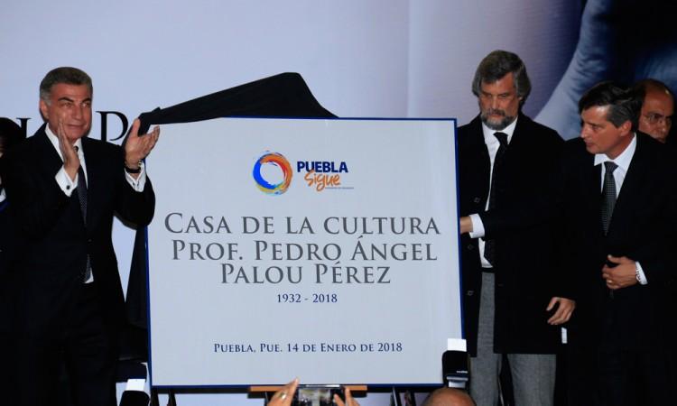 Casa de la Cultura lleva el nombre de Pedro Ángel Palou Pérez