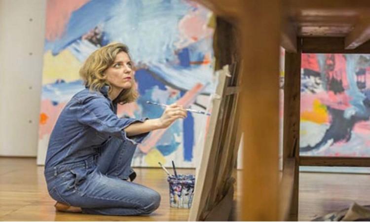 Artista chilena exhibe su obra en Zacatlán