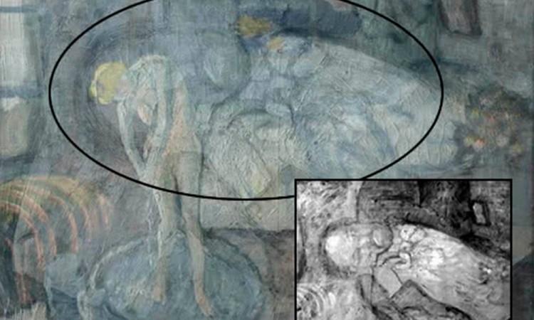 Descubren con rayos X pintura oculta en un Picasso